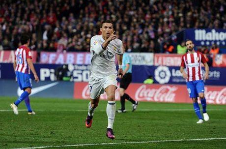 """Atletico - Real Madrid: """"Con cuong phong"""" Ronaldo - Anh 2"""