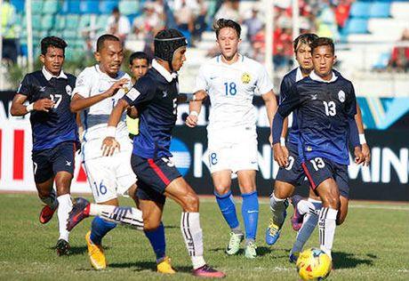 Malaysia – Campuchia: Ruot duoi 5 ban thang - Anh 1