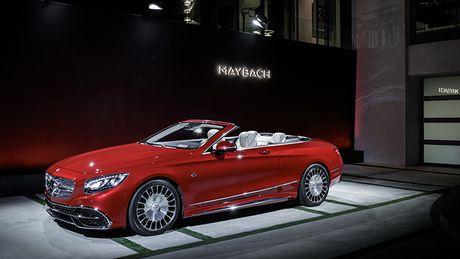 Xe mui tran sieu sang Maybach S 650 Cabriolet co gia 320.000 USD - Anh 1