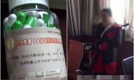 Trung Quoc: Thuoc ban qua mang chua nhieu chat doc hai - Anh 1