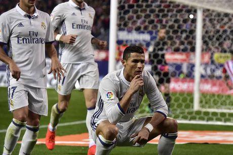 BAN TIN The thao: Ronaldo pha ky luc ghi ban o derby Madrid - Anh 1