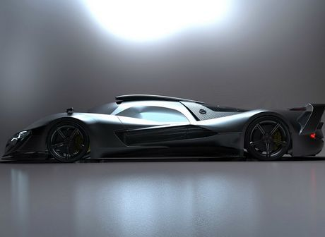 Mercedes-AMG dang phat trien sieu xe cong suat hon 1000 ma luc - Anh 1