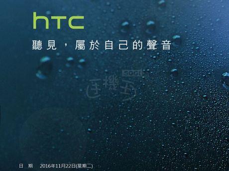 HTC 10 evo se ra mat vao ngay 22/11 - Anh 2