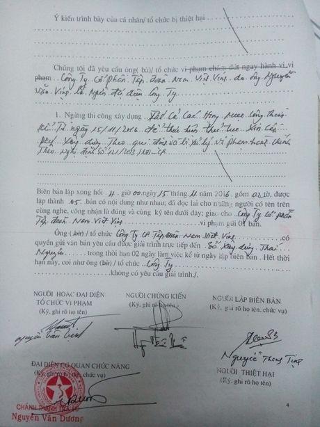 Tinh Thai Nguyen chi dao xu ly phan anh viec xay dung ben xe khach khong phep - Anh 2