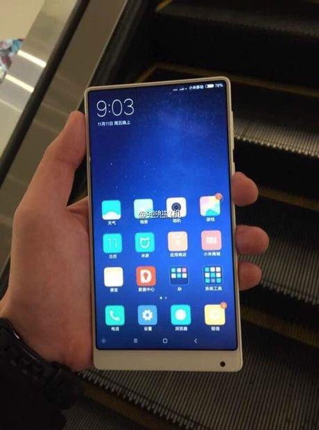 He lo Xiaomi Mi MIX ban mau trang sieu goi cam - Anh 2