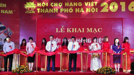 192 DN tham gia Hoi cho hang Viet Nam TP Ha Noi nam 2016 - Anh 1