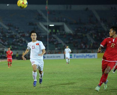 Myanmar 1-2 DT Viet Nam: Chien thang vat va - Anh 6