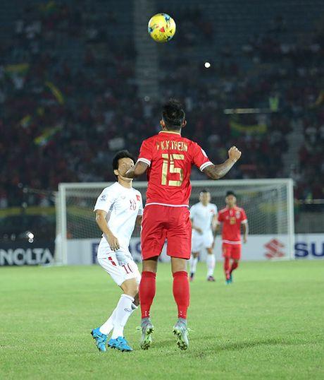Myanmar 1-2 DT Viet Nam: Chien thang vat va - Anh 9