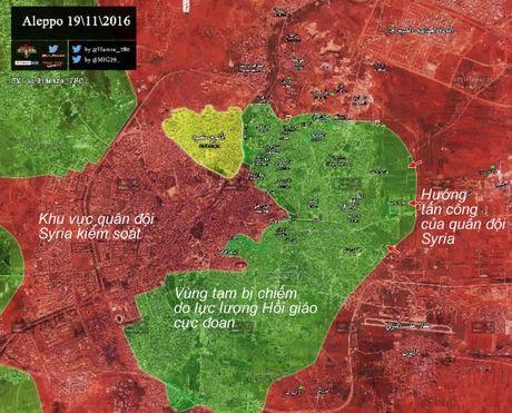 Quan doi Syria, Palestine tan cong cac quan phia dong Aleppo - Anh 1