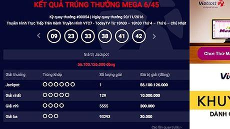Khach hang Viet thu 4 trung xo so tu chon hon 56 ty dong - Anh 1