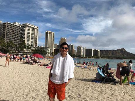Thanh Thao e ap ben 'nguoi tinh' Quang Dung o Hawaii - Anh 11