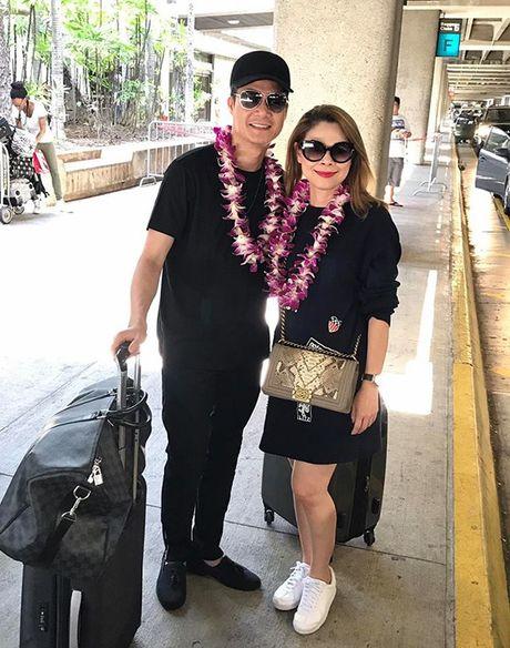 Thanh Thao e ap ben 'nguoi tinh' Quang Dung o Hawaii - Anh 1