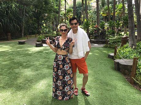 Thanh Thao e ap ben 'nguoi tinh' Quang Dung o Hawaii - Anh 5