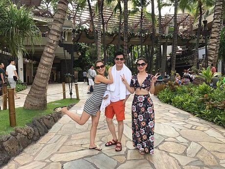 Thanh Thao e ap ben 'nguoi tinh' Quang Dung o Hawaii - Anh 6