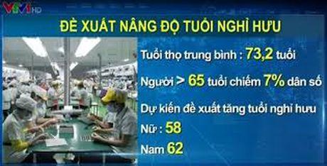 Nguoi lao dong co muon tang tuoi nghi huu? - Anh 1