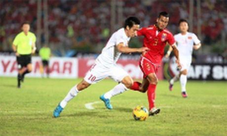 Thang doi tuyen Myanmar 2-1, doi tuyen Viet Nam khoi dau thuan loi - Anh 1