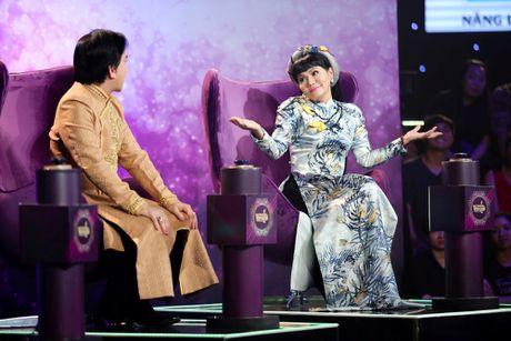 Ngoc Huyen bi Kim Tu Long lien tuc 'chat chem' tren ghe nong - Anh 2