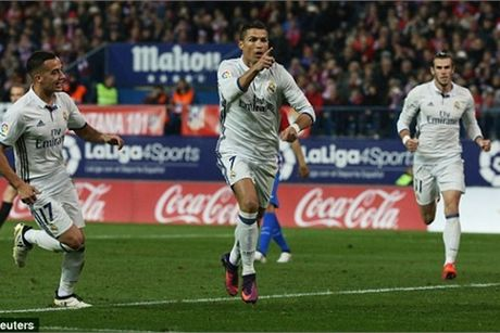 Video ban thang Atletico Madrid 0-3 Real Madrid - Anh 1