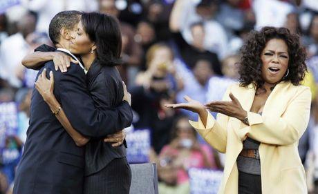 Khoanh khac ngot ngao den 'rung tim' cua vo chong Obama - Anh 10