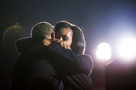 Khoanh khac ngot ngao den 'rung tim' cua vo chong Obama - Anh 12