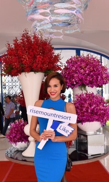 Hoa hau Viet Nam khoe sac tai Resort 'Dia Trung Hai' Da Nang - Anh 10