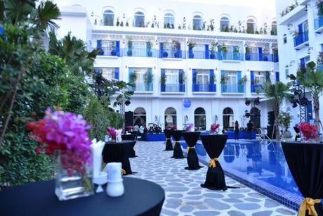 Hoa hau Viet Nam khoe sac tai Resort 'Dia Trung Hai' Da Nang - Anh 11