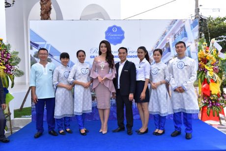 Hoa hau Viet Nam khoe sac tai Resort 'Dia Trung Hai' Da Nang - Anh 3