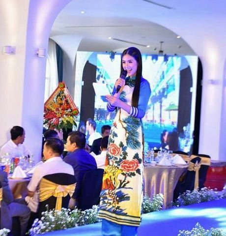 Hoa hau Viet Nam khoe sac tai Resort 'Dia Trung Hai' Da Nang - Anh 5