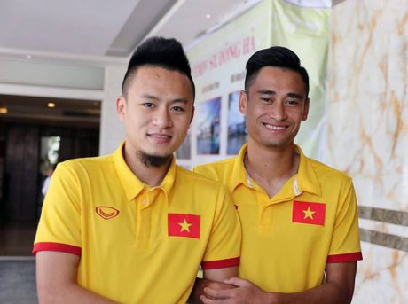 AFF Cup 2016: Huy Toan truyen lua cho Minh Tuan truoc gio G - Anh 1