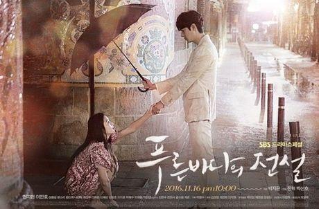 Lee Min Ho trong 'Huyen thoai bien xanh' voi chan dai chan ngan - Anh 2