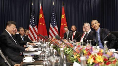 Lanh dao the gioi dua nhau 'mo xe' chinh sach thuong mai cua ong Trump tai Hoi nghi cap cao APEC - Anh 1