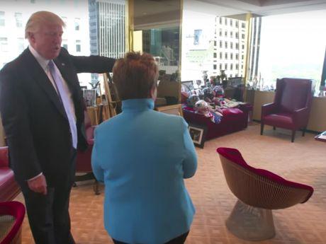 Kham pha van phong lam viec cua ong Donald Trump o Manhattan - Anh 6