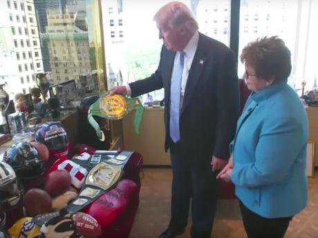 Kham pha van phong lam viec cua ong Donald Trump o Manhattan - Anh 7