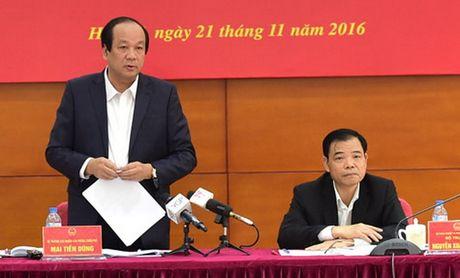Thu tuong yeu cau Bo Nong nghiep giai quyet 7 van de ton tai nhieu nam - Anh 1