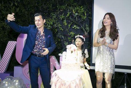 Truong Ngoc Anh cung Tran Bao Son mung sinh nhat con gai - Anh 2