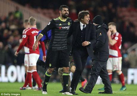 Cham diem thay tro Conte o tran cau len dinh: Diem 9 cho Diego Costa - Anh 1