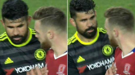 Xin doi ao dau Costa, cau thu Arsenal linh du - Anh 1
