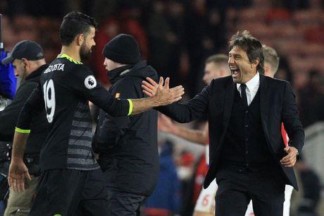 Costa ghi ban thu 10, Chelsea len ngoi dau Ngoai hang Anh - Anh 16