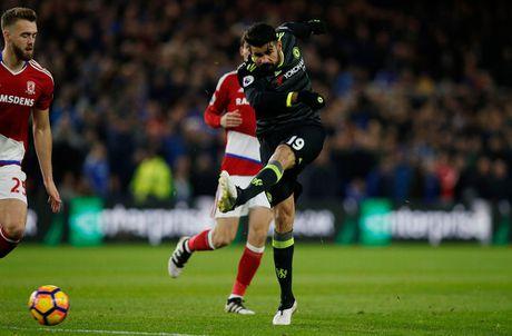 Costa ghi ban thu 10, Chelsea len ngoi dau Ngoai hang Anh - Anh 3