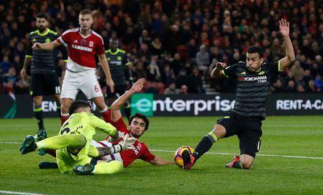 Costa ghi ban thu 10, Chelsea len ngoi dau Ngoai hang Anh - Anh 7