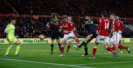 Costa ghi ban thu 10, Chelsea len ngoi dau Ngoai hang Anh - Anh 9