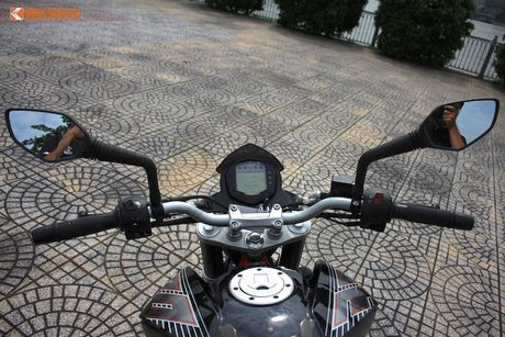 Cam lai 'xe no' KTM Duke 390 gia 155 trieu tai VN - Anh 6