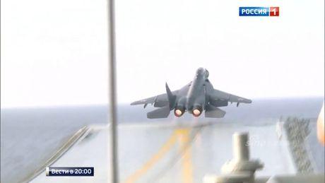 Soi hoat dong tren tau san bay Kuznetsov tham chien tai Syria - Anh 5