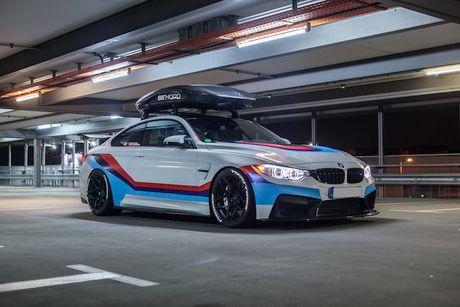 BMW M4 do 'sieu khung' danh cho dan truot tuyet - Anh 10