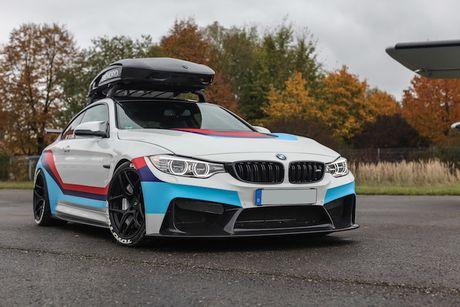 BMW M4 do 'sieu khung' danh cho dan truot tuyet - Anh 1