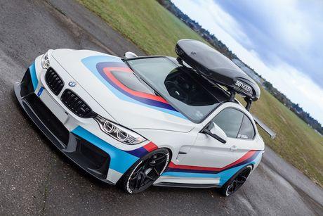 BMW M4 do 'sieu khung' danh cho dan truot tuyet - Anh 2