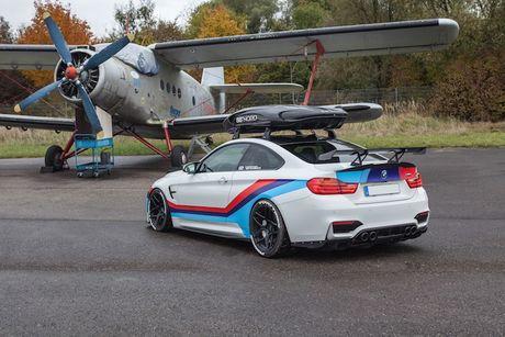 BMW M4 do 'sieu khung' danh cho dan truot tuyet - Anh 5
