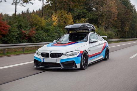 BMW M4 do 'sieu khung' danh cho dan truot tuyet - Anh 8