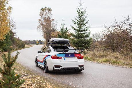 BMW M4 do 'sieu khung' danh cho dan truot tuyet - Anh 9