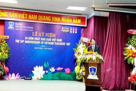 Truong Dai hoc Nguyen Tat Thanh dat chuan quoc te 3 sao - Anh 1
